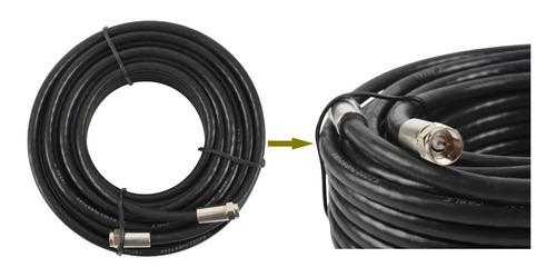 Cable Extension Coaxial Para Antena Tv Rg6 20 Metros