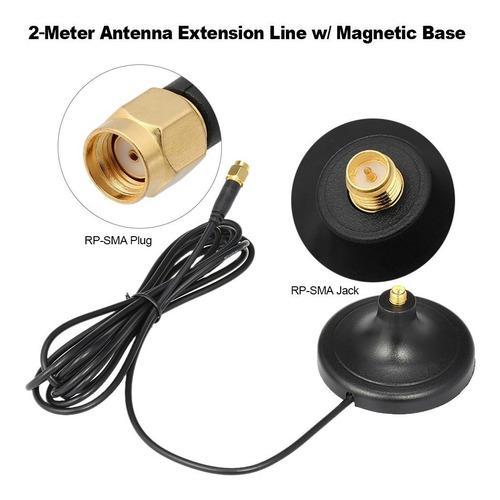 Conector Macho A Hembra Para Antena De 2,4 Ghz Wifi 2g 3g 4g
