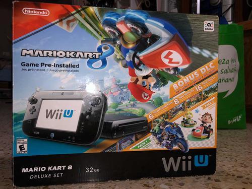 Consola Wii U Edición Mario Kart 8 (nintendo)