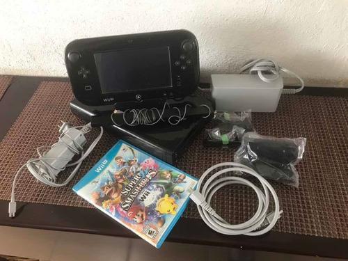Consola Wii U Súper Mario 3d World Edition Con Smash Bros.