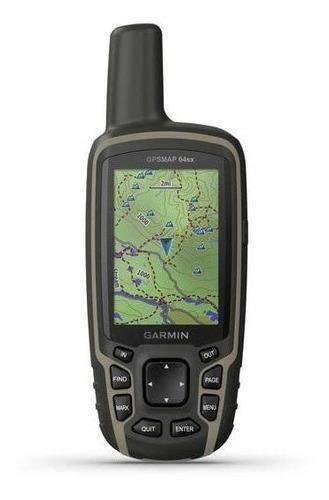 Gps Garmin Gpsmap 64sx Kit Topografico Antena Ga 38 Y Mapa