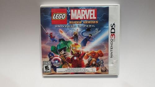 Lego Marvel Super Heroes Universe In Peril 3ds 2ds Juegazo!