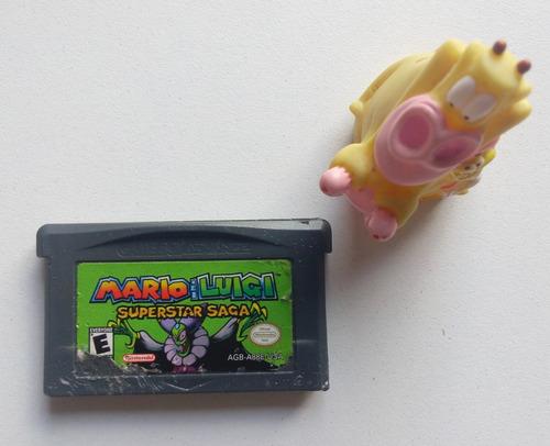 Mario And Luigi Superstar Saga Game Boy Advance Gba