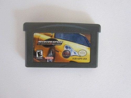 Need For Speed Porsche Unleashed Gba Game Boy Advance