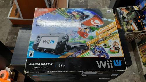 Nintendo Wii U Edicion Mario Kart 32gb En Caja, Funcionand
