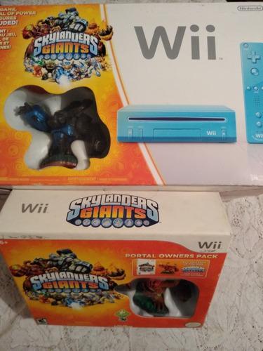 Wii Edición Especial Skylanders Completo En Buen Estado