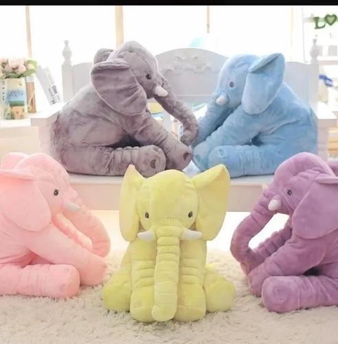 Almohada Para Bebe Hipo Alergenico Gigante Elefante Peluche