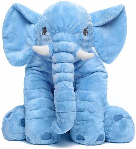 Almohada Peluche De Elefante Felpa Suave Para Bebes