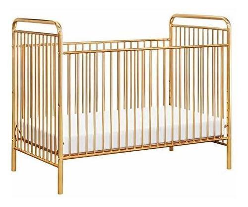 Babyletto Jubilee 3 En 1 Metal Convertible Cuna Oro