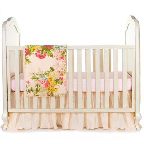 Charlotte 3 Piece Infant Baby Girl Girl Cuna Floral Juego D