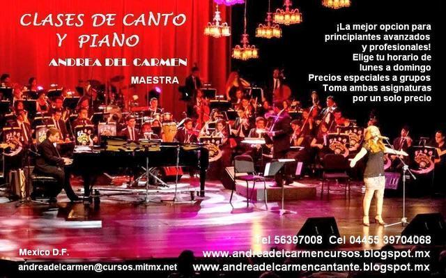 Clases De Canto Y Tocar Piano