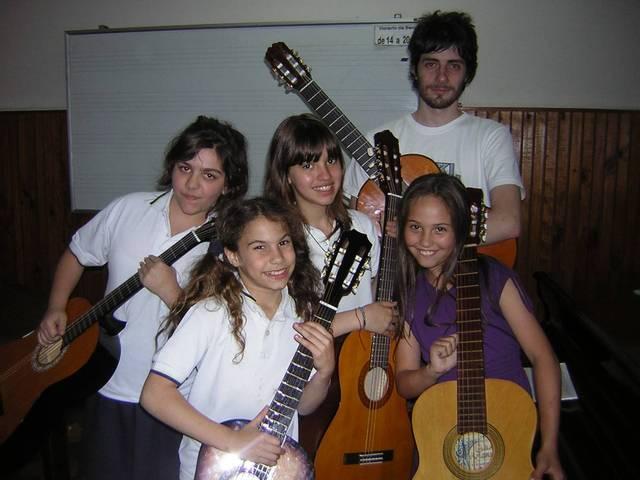 Clases de guitarra a domicilio D.F. Y area Metropolitana