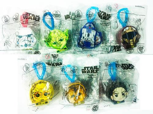Coleccion De Llaveros Star Wars Mcdonalds  Nuevos