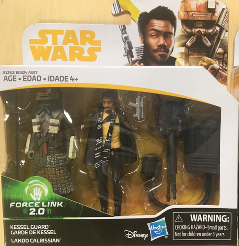 Figuras Star Wars Force Link Doble, Lando Calrissian