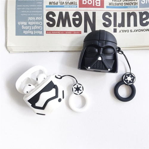 Funda Protector AirPods Star Wars Darth Vader Stormtrooper