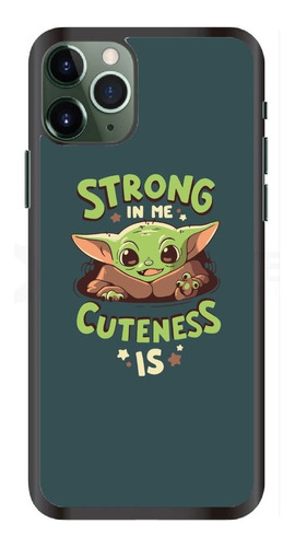 Funda iPhone 11 / X / 8 / 7 / 6 Baby Yoda Bebé Star Wars