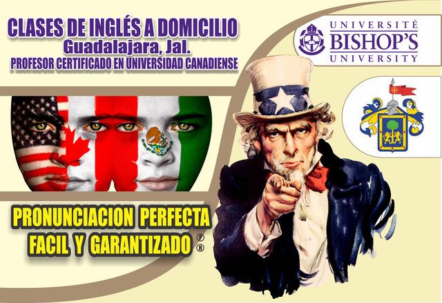 INGLES EN GUADALAJARA, MEX. CLASES PARTICULARES A DOMICILIO.