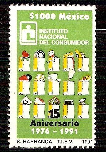 Instituto Nacional Consumidor $ Sello Sc  Mnh