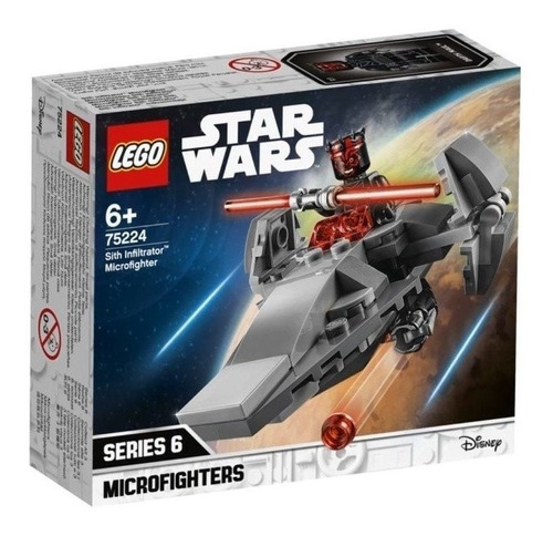 Lego Star Wars Microfighters Serie 6 Sith Infiltrator #