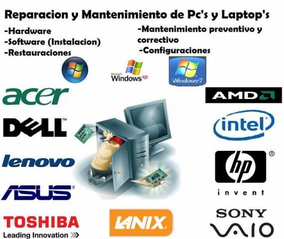 Mantenimiento de computadoras con factura estado de México