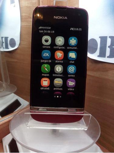 Nokia Asha 311 Fucsia Movistar