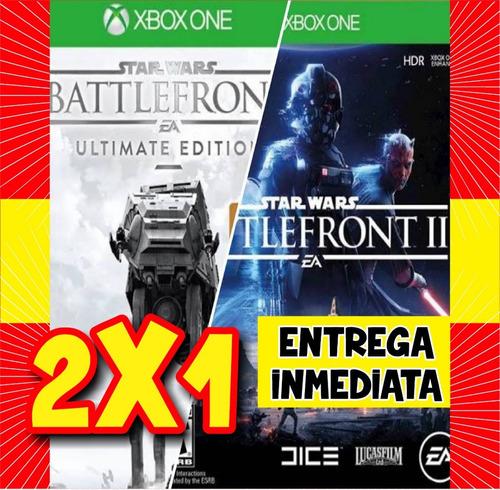 Online Star Wars Battlefront 1 Y 2 Con Dlc's Xbox One