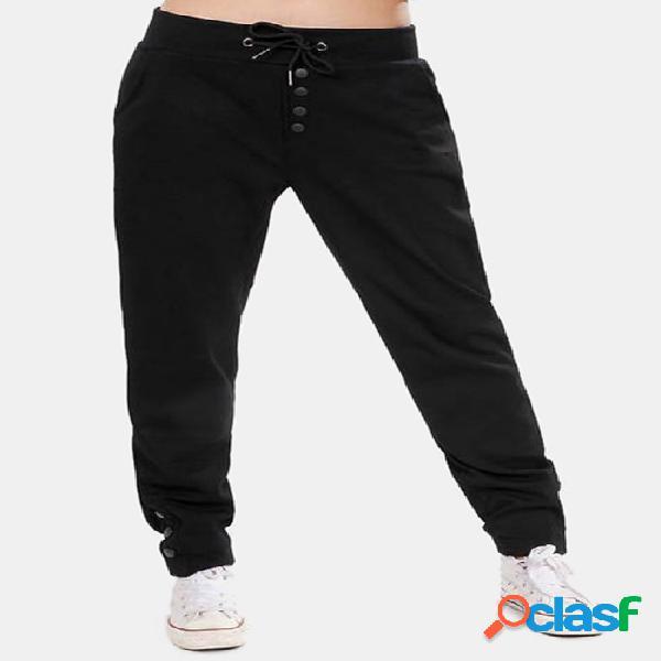 Pantalones elásticos de la cintura elástico del diseño
