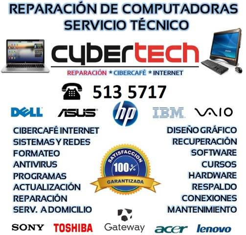 """Reparación y mantenimiento de computadoras, """"somos los"""