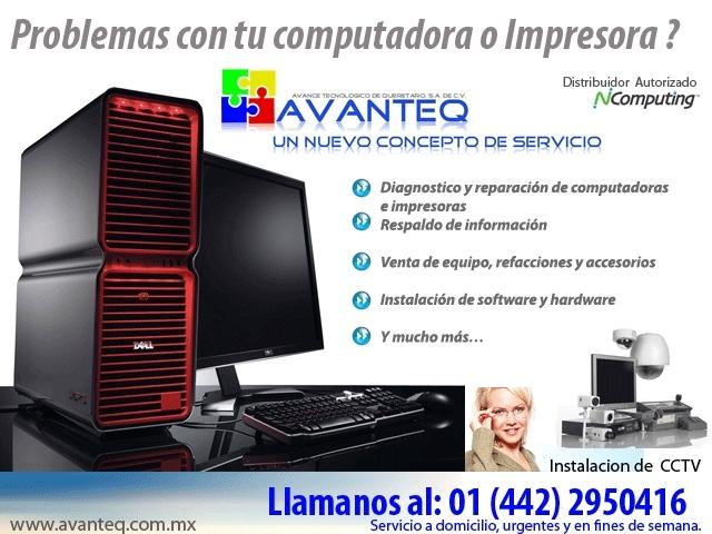 Reparación y mantenimiento de impresoras en Querétaro