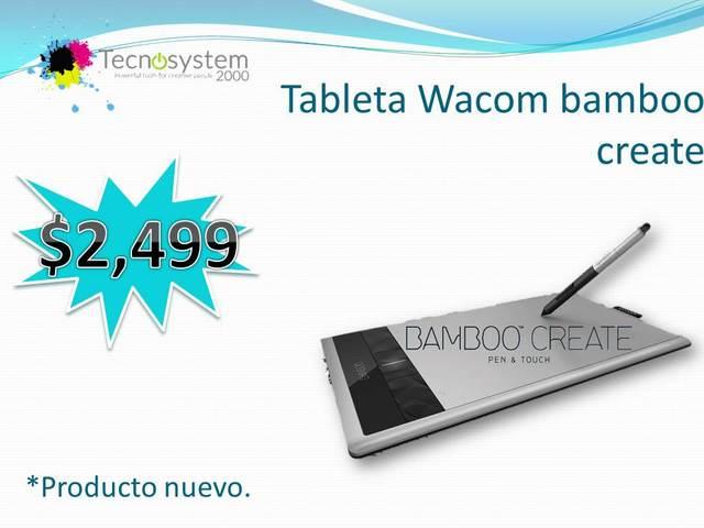 Tableta Wacom bamboo create