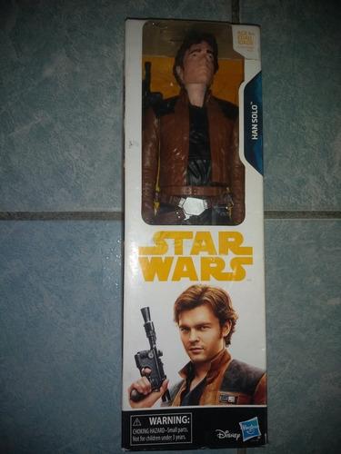 Titan Hero Series Star Wars Han Solo Movie Nuevo Sellado