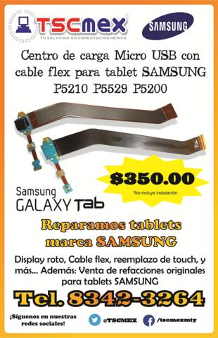 VEnta de Centro de carga Micro USB con cable flex para