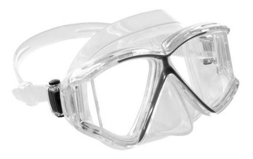 Visor Pano 4 Cressi Para Buceo Y Snorkeling Clear / Negro