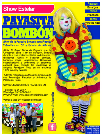 Payasita Bombón: Show Profesional para Fiestas Infantiles
