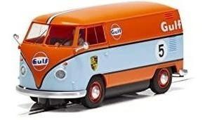 Scalextric Volkswagen Panel Van Gulf Livery 1:32 Slot