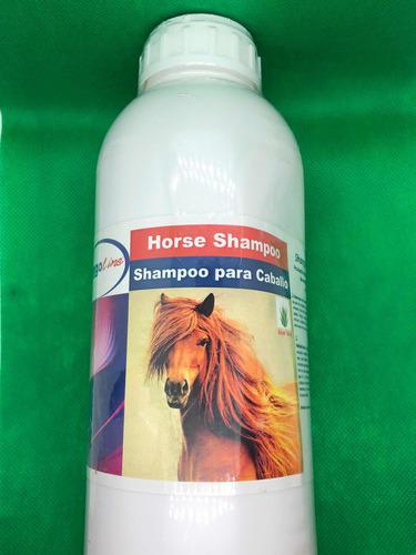 Shampoo Para Caballos, (5 Piezas), Más Brillo Más