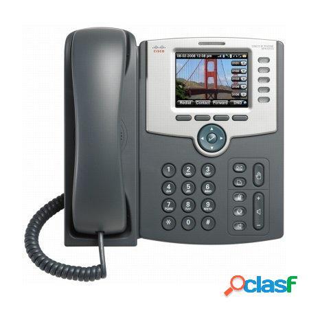 Cisco Teléfono IP de 5 Líneas con Pantalla de Color