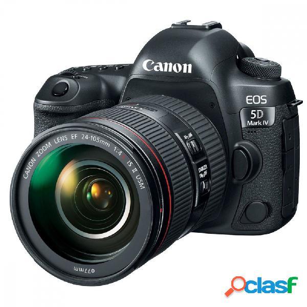 Cámara Réflex Canon EOS 5D Mark IV, 30.4MP, Cuerpo + Lente