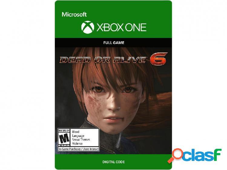Dead or Alive 6, Xbox One - Producto Digital Descargable