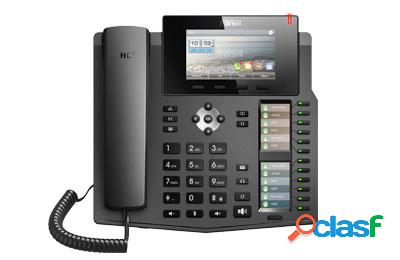 Fanvil Teléfono IP con 3 Pantallas X6, 6 Lineas, 12 Teclas