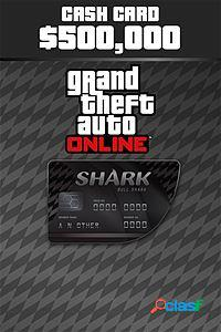 Grand Theft Auto V Bull Shark Cash Card, Xbox One - Producto
