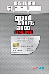 Grand Theft Auto V Great White Shark Cash Card, 1250000