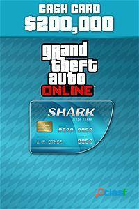 Grand Theft Auto V Tiger Shark Cash Card, Xbox One -