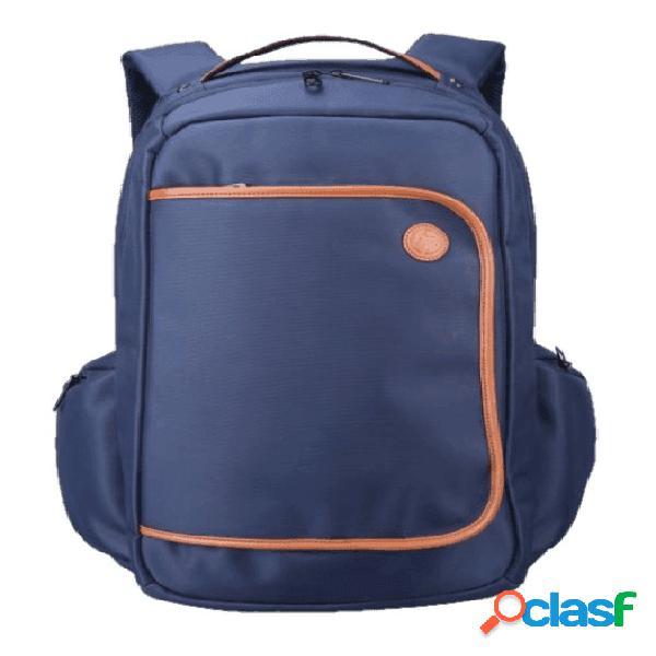 "HP Mochila 3DR92LA para Laptop 15.6"", Azul/Naranja"