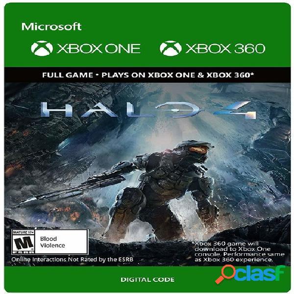 Halo 4, Xbox 360/Xbox One - Producto Digital Descargable