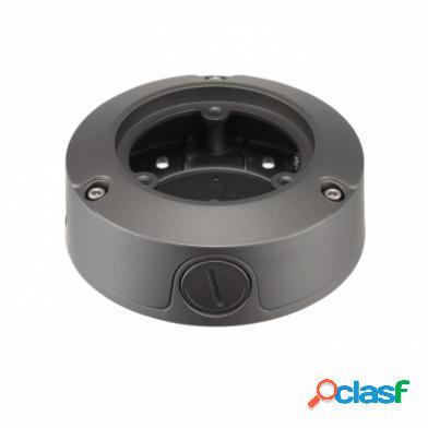 Hanwha Caja de Conexiónes para Exterior, Aluminio, Negro