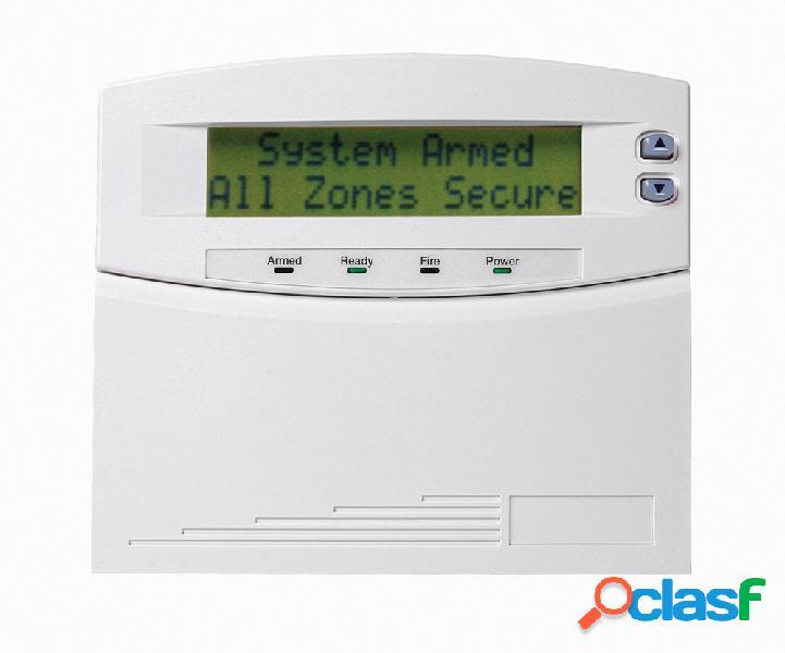 Interlogix Teclado Receptor LCD para Panel de Control