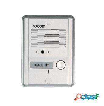 Kocom Frente de Calle con Cámara KC-MC24, Alámbrico, Metal