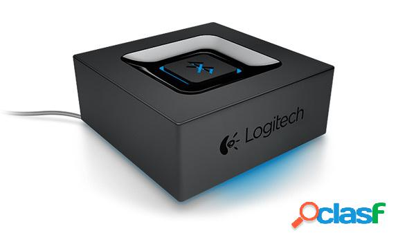 Logitech Adaptador de Audio Bluetooth, 3.5mm/RCA, Negro