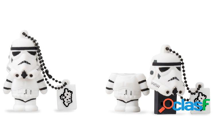 Memoria USB Tribe, 8GB, USB 2.0, Star Wars TFA Stormtrooper